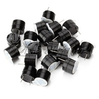 5V Continuous Sound Piezo Buzzers Fit for Computers Printers Pack of 20