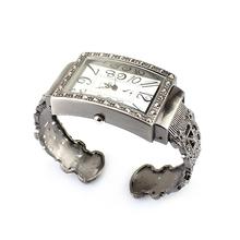 Retro Vintage Antique Jewelry Style Ladies Women Wrist Bangle Bracelet Watch