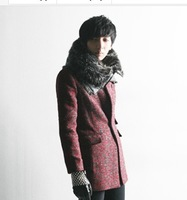 man punk new winter coat tide male Korean version of a long paragraph Slim feed it suits X P4TTT