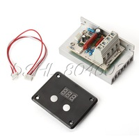 220V AC 10000W Electron Digital Voltage Regulator Dimming Thermoregulation