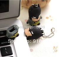 EH039 Rubber Fashion Avengers Batman Enough Real 4GB 8GB 16GB 32GB 64GB USB Flash 2.0 Memory Drive Stick Free Shipping