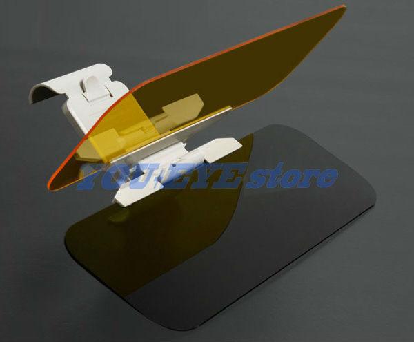 (Set2) Extend-A-Visor - Attachable Sun Shields For