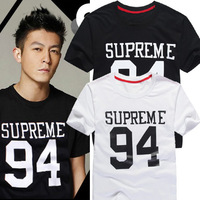 wholesale tshirt  the cheapest price  S-  XXL 94 quality cotton short sleeve sup T-shirt  skateboarding  cotton for girls  men
