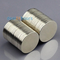 20pcs N50 Super Strong Round Disc Cylinder Magnets Rare Earth Neodymium 15mm x 1mm Free Shipping