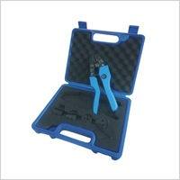 Wintools Crimping pliers kit with 4 pair crimper jaws wire cable clamps hand tools WT05090