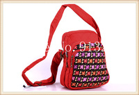 2014 New! Wholesale Handcrafted Ethnic Red Bags Handbags Women Messenger Bag Sling Shoulder Bag Cotton High Qlty Gift for Her