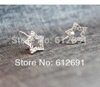 Korea ear clip star earring no pierced ear cuffs fash drilling earrings 2014 new U-type ear clips girl LM-HC-26