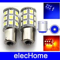 P21W 1156 S25 Ba15s LED Tail Brake Backup White Light Bulbs Lamp Bulb DC 12V 27 leds SMD 5050 Free Shipping