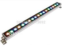 1000*49*53mm  waterproof IP65 AC85-265V RGB 24W LED wall wash light  wall washer light landscape lighting 6pcs/lot