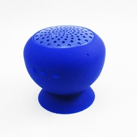 Mushroom Bluetooth Speakers for Smartphone Support Answer Calling TF Card Waterproof Silicone Portable with RCA audio line
