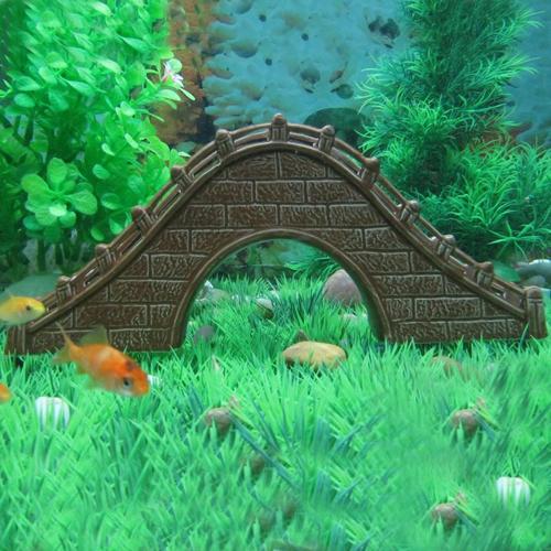 Bridge aquarium tanks promotion online shopping for for Aquarium bridge decoration