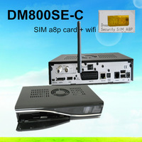No Custom Duty !dm800se-c A8p wifi Dm800se cable hd receiver DM800HD SE Cable tuner DVB-C tuner+300Mbps Wifi Free Shipping