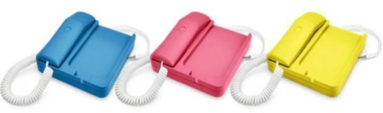 Yellow New Hot selas retro reduce radiation Phone landline Handset For iPhone 4 4S 5 3 3S 3G MP02(China (Mainland))