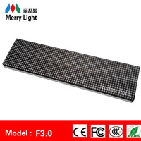 Dot Matrix Display P4mm  full color single color LED  module 16 * 64 pixel super bright display free combination