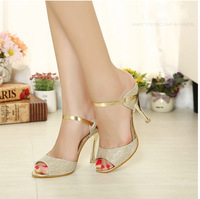 free shipping New  thin high-heeled women's Sandals shoes 2014 summer dress shoes for women high quality wholesale free shipping