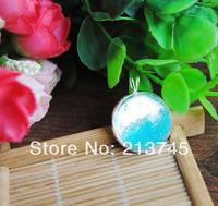 Free ship!! 20sets/lot silver color 20mm glass dome globe & pendant base set & necklace glass vial pendant glass cover