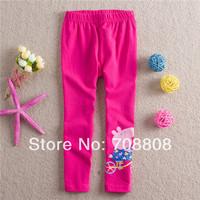 2014 Girls' Leggings Summer -Autumn Baby Girls Pants Peppa Pig Pants Children Girl's Leggings Long Pants for Girls Clothing