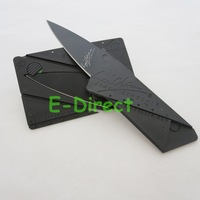 50pcs/lot High Quality Sinclair Cardsharp Credit Card Knife Wallet Folding Safety Knife Pocket Camping Hunting Knife