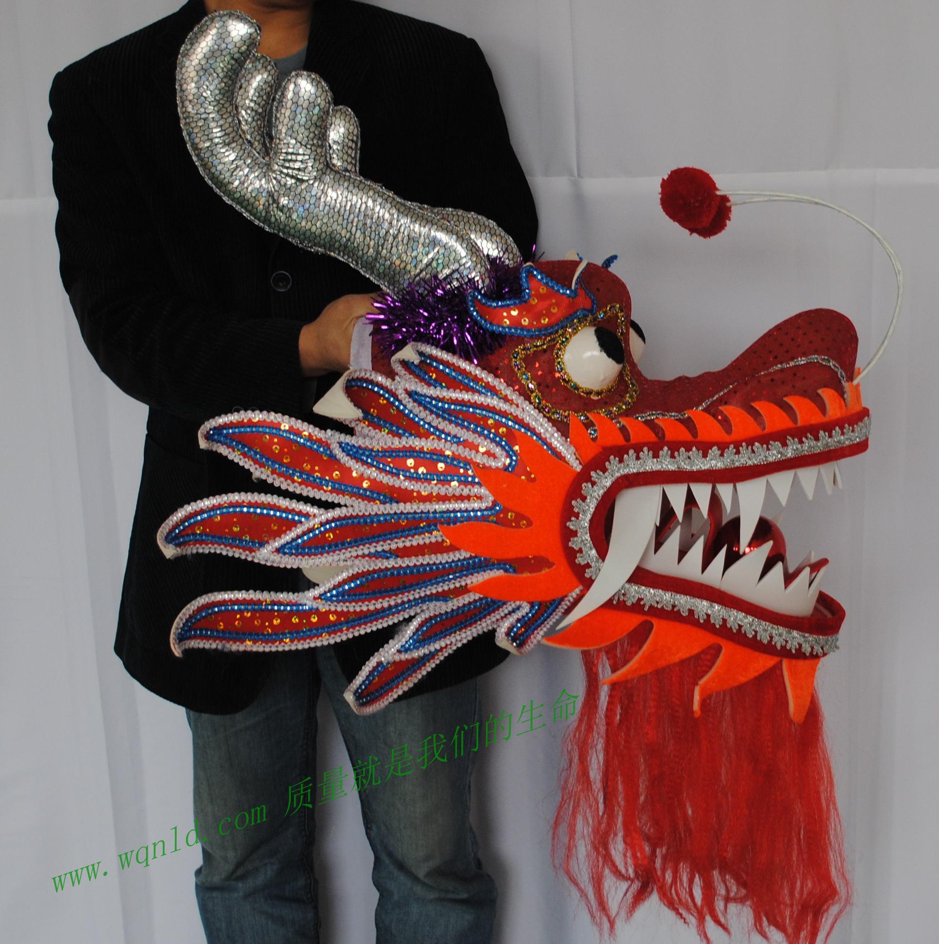 Как сделать дракона для китайского танца