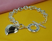 Free Shipping Brand New Fashion Sytel 925 Silver Charming Bracelet H240113