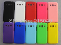 Free Shipping! Oil-coated Hard Rubber Matte Back Case for Samsung Galaxy Win Pro G3812/Express 2 G3815 Frosted Cover, SAM-189