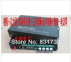 Many business optical transceiver Two-way video + Ethernet ++ two-way audio + data + telephone switch quantity(China (Mainland))