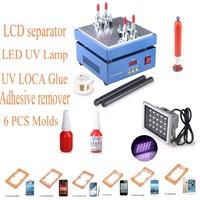 2014 Manual LCD Separator Machine /Seperator to Repair /Split /Separate Glass Touch Screen Digitizer for Mobile Phone