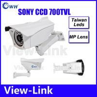Top Quality ! Megapixel Lens Sony 700TVL Outdoor Waterproof Video Surveillance Night Vision IR CCTV Camera Security