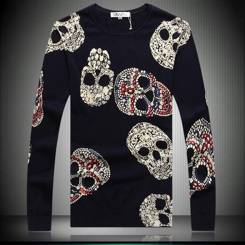 [해외]새로운 2014 봄과 가을 남자의 캐주얼 스웨터, 남성 패션 모달..