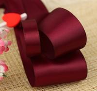 Hight quality double face ribbon satin ribbon 9mm 100yards free shipping custom new arrive