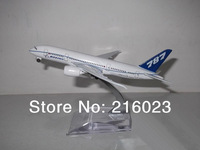 2x Diecast 1/400 Boeing 787 Metal Airplane Model Aircraft Airlines Collected Fine Toy for kids Family