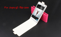 Free Shipping Wholesale 10pcs/lot Original Jiayu G5 Leather Case jiayu g5 flip case luxury jiayu g5 phone case cover