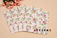 NP041 3 packs 60pcs Lovely Flower Napkin Paper 100% Virgin Wood Tissue for Party Wedding Decoration