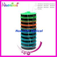 free shipping  16B   10 different sizes  lens insertion eyeglasses interline  eyewear Nylon Wire  total 125 meters