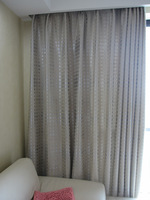 Modern brief quality suede fabric double faced jacquard shade cloth curtain thickening sunscreen finished products