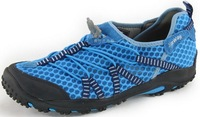 1622 Promotion! 2014 Fashion Mesh Breathable Men hiking shoes Sneakers Blue Size 38.5-43