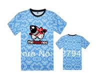 The freshnes Floral T shirts fashion casual slim mens womens T-shirts 6 styles short sleeve Free Shipping Szie S-XXXL
