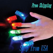 Ship From USA 8 LED Finger Lights JA026(China (Mainland))
