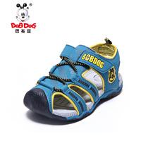 Cutout sandals toe cap covering 2013 BOB DOG children shoes male child sandals fashion child sandals