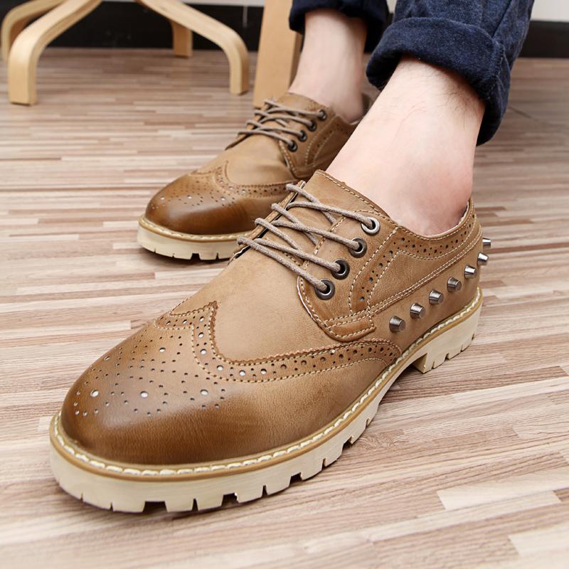 Свободного покроя обувь вилочная часть обувь кожа кисточка платформа обувь скейтбординг обувь