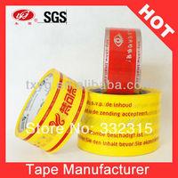 Logo Printed Tape Packaging Adhesive Tape Bopp Tape