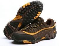 1631 Wholesale! Genuine Leather Wear proof Men's Trekking shoes sneakers 3 colors Size39-43