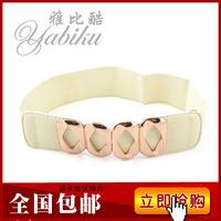 Fashion strap women's wide belt all-match belt decoration elastic waist belt ultra wide cummerbund
