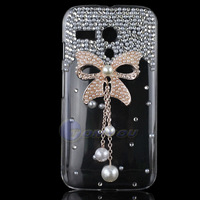New Arrival 2014 Clear Bling Elegance Wood Heart Case For Motorola Moto G DVX XT1032 Crystal Flower Back Cover Free Shipping