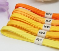Hight quality grosgrain ribbon hair accessory bow belt  diy material 9mm 100yards free shipping
