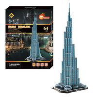 BURJ KHALIFA TOWER PUZZLE  3D DIY TOYS