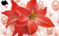 New 2014 Hot  3d flower cross stitch rhinestone pasted painting kits diamond  hand craft