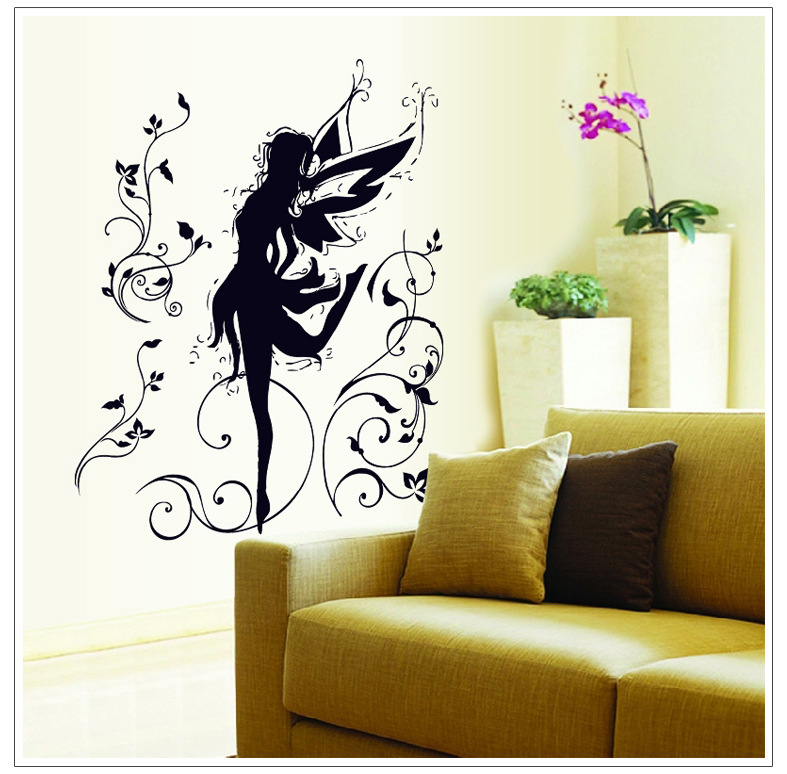 Diy Wall Decor For Classroom : Aliexpress buy cm dancing elf removable wall