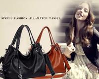 Hot Sales 2014 High Quality Luxury Designer Brand Handbags Women Tassel Key Women Messenger Bags Famous Women Bag 2014 Spring