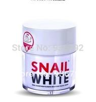 Free shipping 1pcs Snail White snail face cream Acne Treatment  Anti-Aging whitening moisturizing face care cream